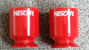 Two Classic Retro Nescafe Egg Cups in Lakenheath, UK
