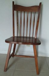 Adult sized sturdy wooden chair in Alamogordo, New Mexico