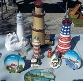 ASSORTED LIGHTHOUSE ITEMS in Moody AFB, Georgia