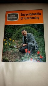 Signed by author - Percy Thrower's Encyclopaedia of Gardening (Encyclopedia) in Lakenheath, UK