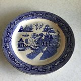 "1908 Buffalo Pottery  Blue Willow 13"" Plate in Alamogordo, New Mexico"