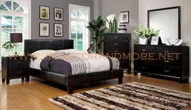 QUEEN PLATFORM BED & MATTRESS FREE DELIVERY in Huntington Beach, California