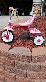 Kids tricycle in Fort Carson, Colorado