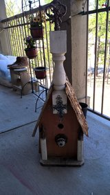 Large handmade birdhouse in Little Rock, Arkansas