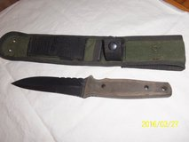 Cuda Black Ops Robert Terzuola Design Tactical Knife with Sheath in Alamogordo, New Mexico