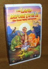 VHS - Land Before Time II in Alamogordo, New Mexico