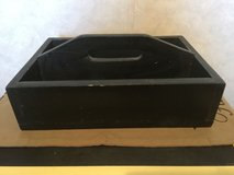 Black Distressed Box w/Handle in Sandwich, Illinois
