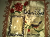 Vintage pillowcase in Fort Campbell, Kentucky