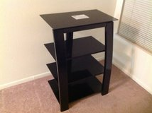 4 Tier TV Stand w/ Glass Shelves in Los Angeles, California