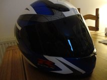 Suzuki Shoei GSXR helmet in Lakenheath, UK
