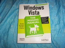 Windows Vista The Missing Manual by David Pogue in Belleville, Illinois