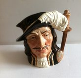 Royal Doulton Large Character Pitcher in Naperville, Illinois