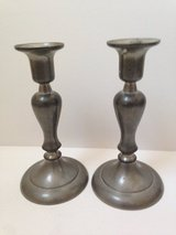 2 Pewter Candle Stick Holders in Wheaton, Illinois