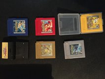 Gameboy color games and cases in St. Louis, Missouri