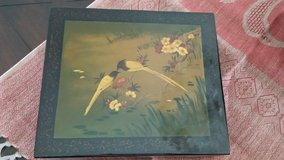 Storage box. Vintage. hand painted in Ramstein, Germany