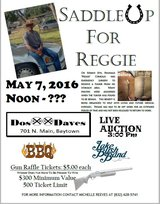"Reginald ""Reggie"" Comeaux Benefit in Baytown, Texas"