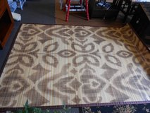 Bamboo Area Rug in Cherry Point, North Carolina