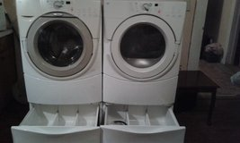 whirlpool duet washer and dryer in Livingston, Texas