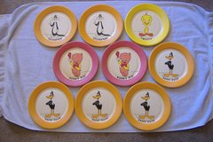 1959 Warner Bros. Vintage Paper Plate Lot in 29 Palms, California