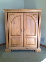 Solid Pine Cabinet in Cary, North Carolina