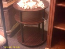 Round Three Tier Side Table in 29 Palms, California