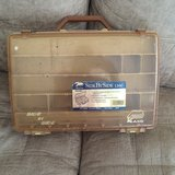 Vintage Tackle Box in Camp Pendleton, California