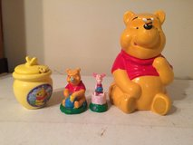 4 piece Winnie the Pooh collectibles in Summerville, South Carolina