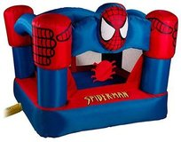 Spider-Man Bounce Round bounce house in Naperville, Illinois