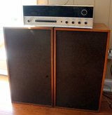 Stereotech 1200 receiver + 2 Marantz Imperial 7 speakers - collector's items!! in St. Charles, Illinois