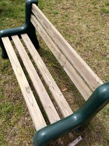 Outdoor Bench in Beaufort, South Carolina