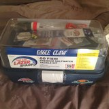 Eagle Claw Lazer Saltwater 39 piece tackle box-NEW in Orland Park, Illinois