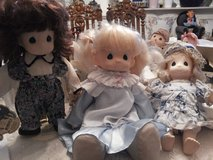 Precious Moments dolls in Ramstein, Germany