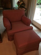 Beautiful arm chair with ottoman in Kingwood, Texas