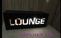Lounge Metal Light Box With ON/OFF and Wall Hook  W16'' x D4.5'' x H6'' in Lockport, Illinois