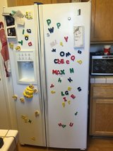 Fridge with ice maker and water dispenser in Travis AFB, California