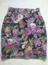 high waist skirt with purple flowers in Ramstein, Germany