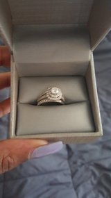Engagement ring set in New Orleans, Louisiana