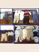 New born clothes and shoes in Fort Irwin, California