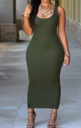 Xl green dress in Beaufort, South Carolina