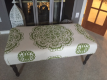 Large Upholstered Bench in Conroe, Texas