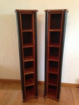 2 Solid Cherry Media Holders in Batavia, Illinois