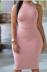 Xl Pink knee length dress, New in Beaufort, South Carolina