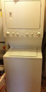 "STACK Washer and Dryer ( Electric-220V ) FULL SIZE 27"" in Camp Pendleton, California"