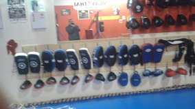 Boxing kicking pads in Fairfield, California
