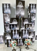 Beautiful New/Boxed Lead Crystal Candlestick Holders in Katy, Texas