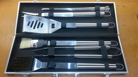 Stainless Steel BBQ Tool Set in Houston, Texas