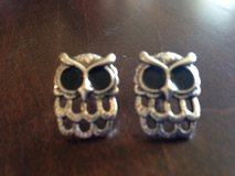 Owl Earrings in Yorkville, Illinois