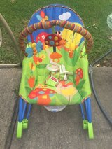 Baby rocker and vibration chair in Kingwood, Texas