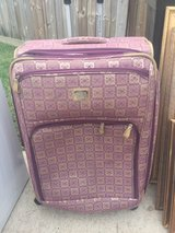 Large Liz Claiborne luggage in Kingwood, Texas