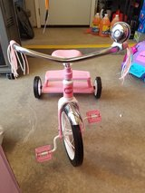 Radio flyer dual deck pink tricycle in Fort Drum, New York